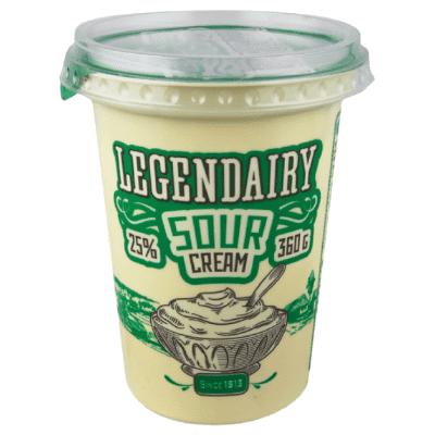 Legendairy product sour cream 360 grams
