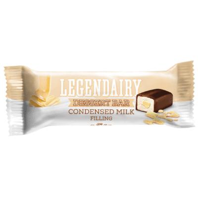 Picture of 'Legendairy' dessert bar with condensed milk filling