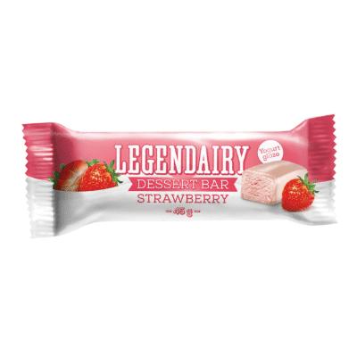 Picture of 'Legendairy' strawberry flavour dessert bar