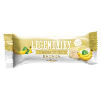 Picture of 'Legendairy' banana flavour dessert bar