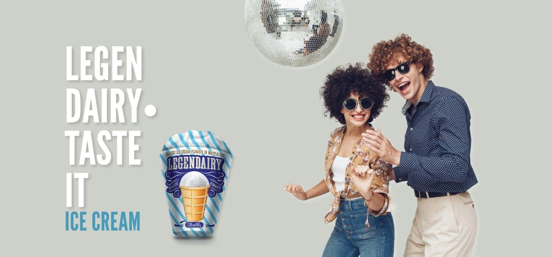 legendairy product waffle ice cream